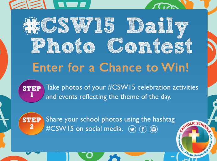 Enter the CSW15 Daily Photo Contest!