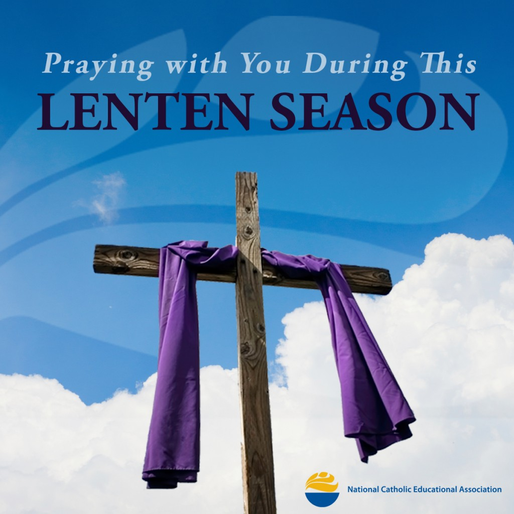 Praying with you this Lenten season