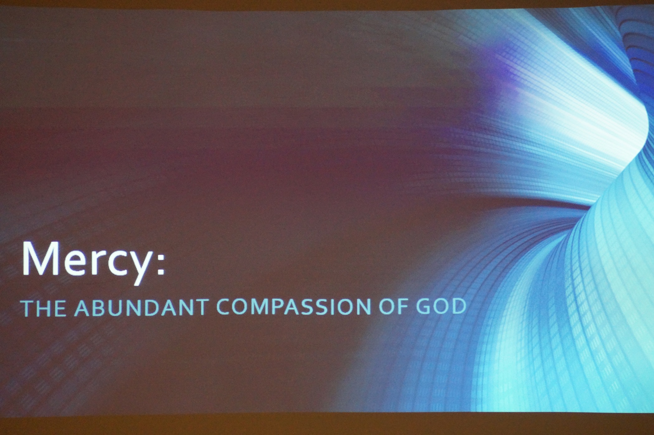 What is mercy and compassion 93