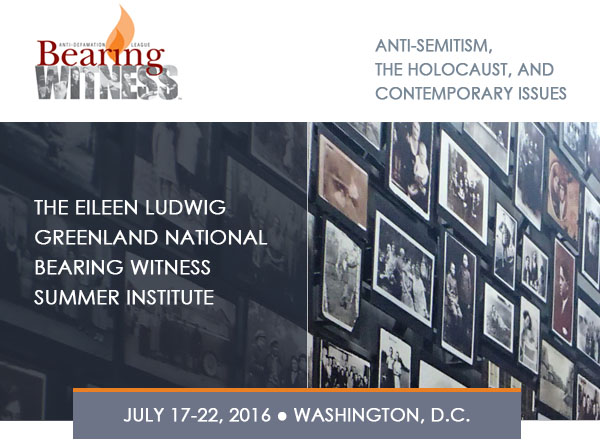 Bearing Witness™ Summer Institute Reflection