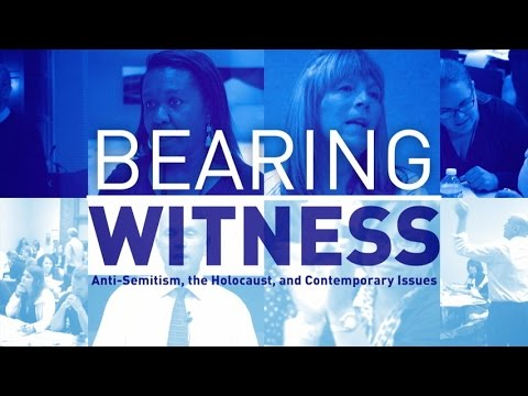 Why You Should Apply for the Bearing Witness Program: A Personal Reflection