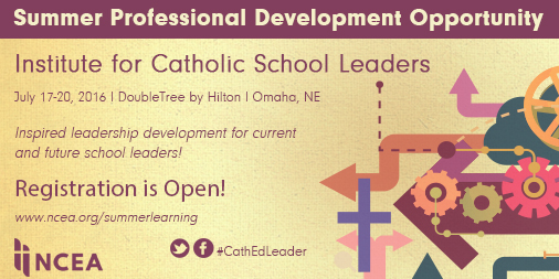 The Institute for Catholic School Leaders in Omaha, Nebraska