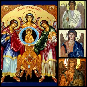 The Feast of the Archangels…and Kids