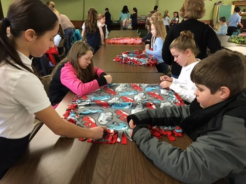Syracuse Catholic Schools Participate in Second Annual Diocesan-wide Day of Service