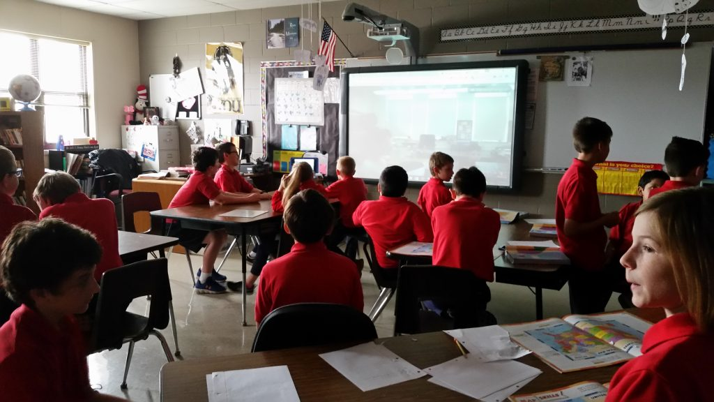 Communicate and Collaborate with Catholic School Classrooms
