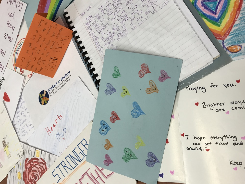 Prayers and Letters from Students, to Students.