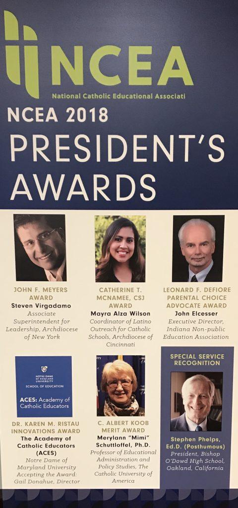 NCEA President's Awards Dinner