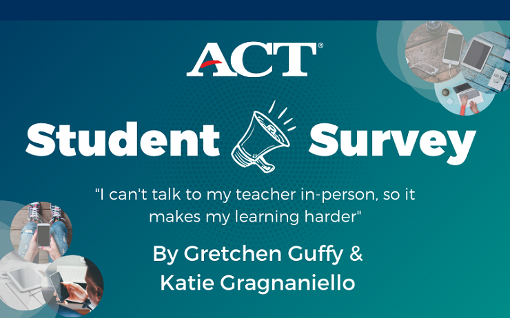 Student Voice Survey Series: 'I can't talk to my teacher in-person, so it makes my learning harder'